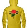 Love me love me not Rose Hooded Sweatshirt