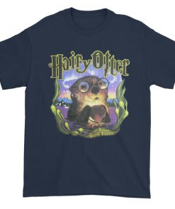 Hairy otter Short sleeve t-shirt