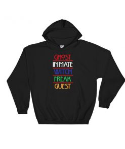 Ghost inmate witch freak guest Hooded Sweatshirt