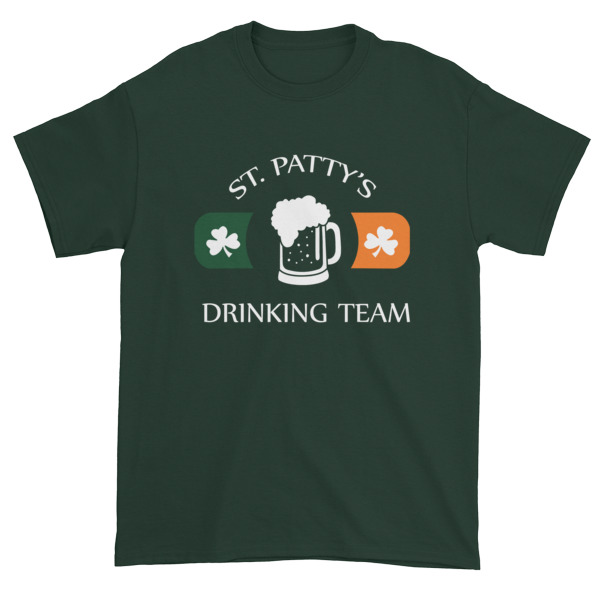 St Patty's Drinking Team Short sleeve t-shirt