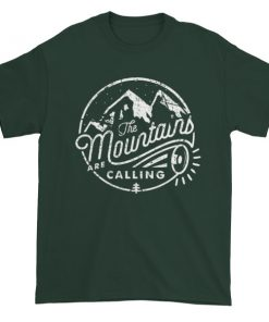 mockup 82e04736 247x296 - the mountain is calling Short sleeve t-shirt