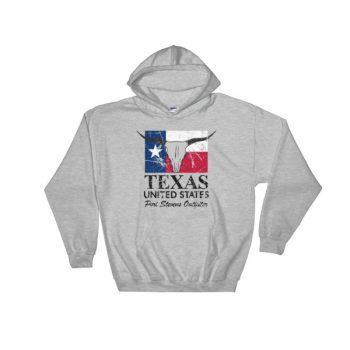 Texas longhorn Hooded Sweatshirt