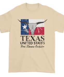 Texas longhorn Short sleeve t-shirt