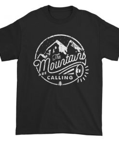mockup f4224ab4 247x296 - the mountain is calling Short sleeve t-shirt