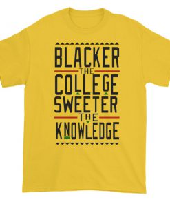 blacker the college Short sleeve t-shirt