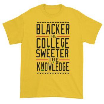 blacker the college Short sleeve t-shirt