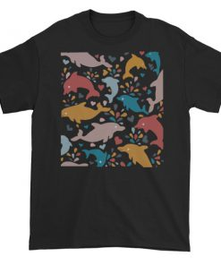 Adam DeVine dolphin art Short sleeve t-shirt