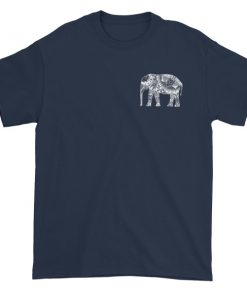 elephant aztec Short sleeve t-shirt