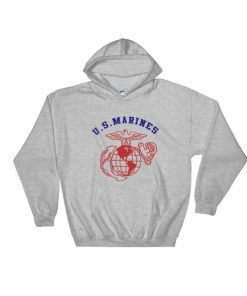 US Marines Hooded Sweatshirt