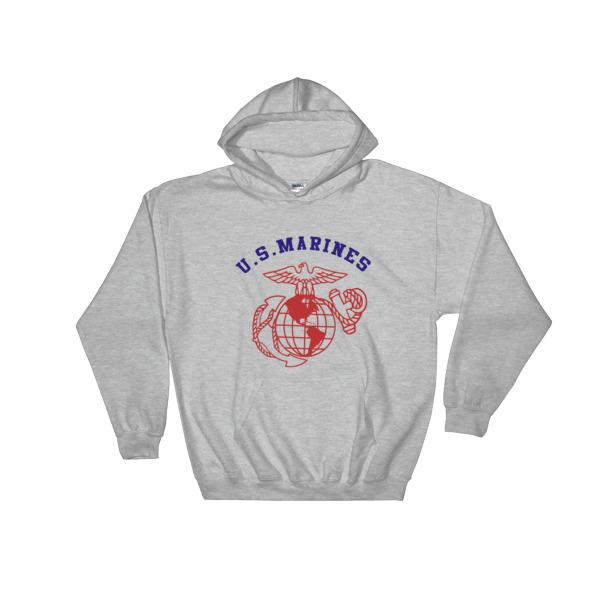US Marines Hooded Sweatshirt