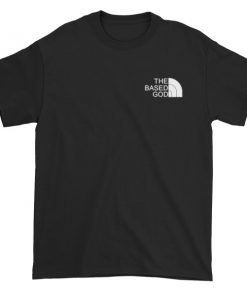 the based god north face Short sleeve t-shirt