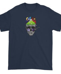 mockup ef88cae9 247x296 - skull art Short sleeve t-shirt
