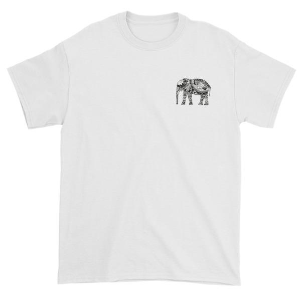 Elephant aztec Short sleeve t-shirt