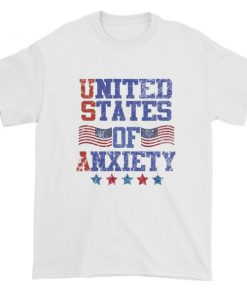 Independence Day 4th july - United States Of Anxiety Short sleeve t-shirt
