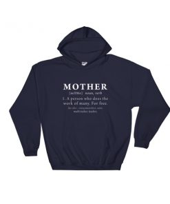Definition of Mother Hooded Sweatshirt