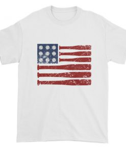 mockup 5793f1ee 247x296 - Baseball American Flag - Independence Day 4th July Short sleeve t-shirt