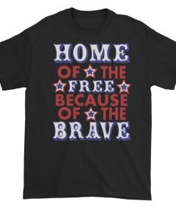 mockup 7d11c87d 247x296 - Independence Day Home Of Free Because Of Brave Short sleeve t-shirt