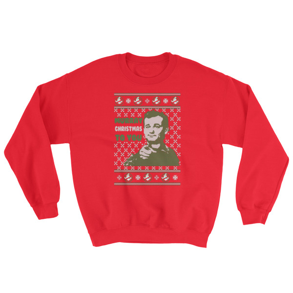 a very murray christmas sweatshirt