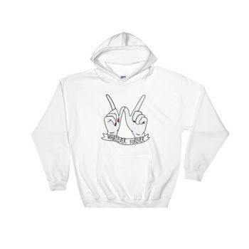 whatever forever Hooded Sweatshirt