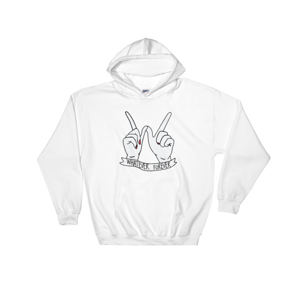 whatever forever Hooded Sweatshirt