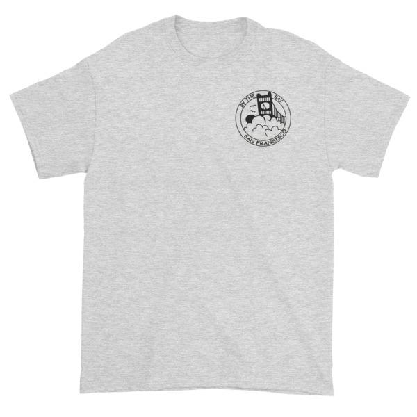 mockup 89fd9d9d - San Francisco - The City by the Bay Short sleeve t-shirt