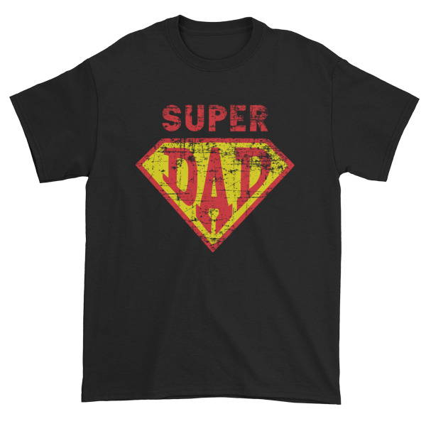 Superhero Dad Short t-shirt
