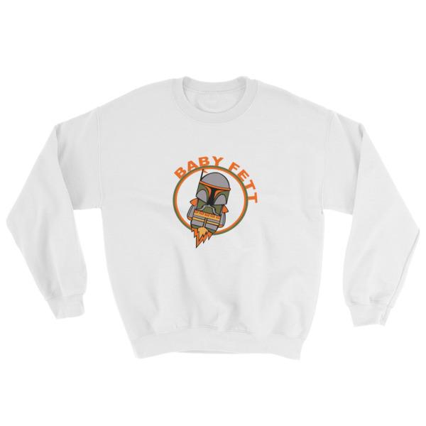 baby fett funny Sweatshirt