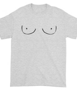 Drawn Boobs Short sleeve t-shirt