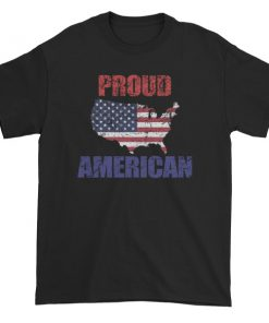 Proud To Be American On This Independence Day Short sleeve t-shirt