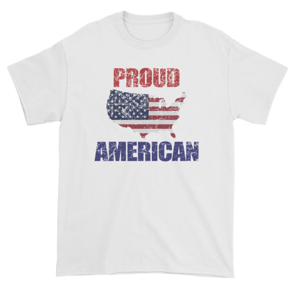 mockup ce214146 - Proud To Be American On This Independence Day Short sleeve t-shirt