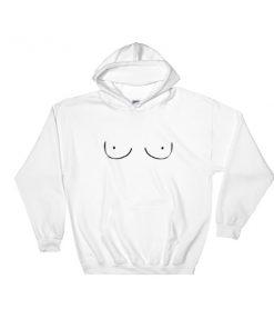 boobs Hooded Sweatshirt