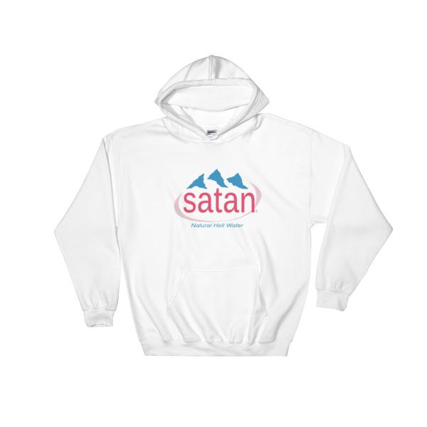 Satan Natural Hell Water Hooded Sweatshirt