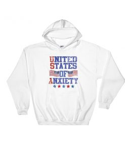 United States Of Anxiety - 4th July fest Hooded Sweatshirt
