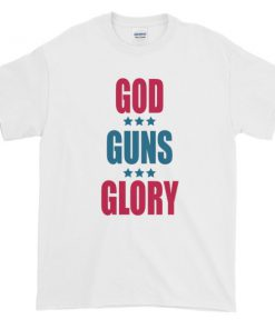 mockup 25a0b275 247x296 - GOD GUNS GLORY - 4th of July Short sleeve t-shirt
