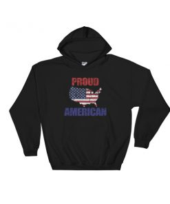 Proud american - 4th July fest Hooded Sweatshirt