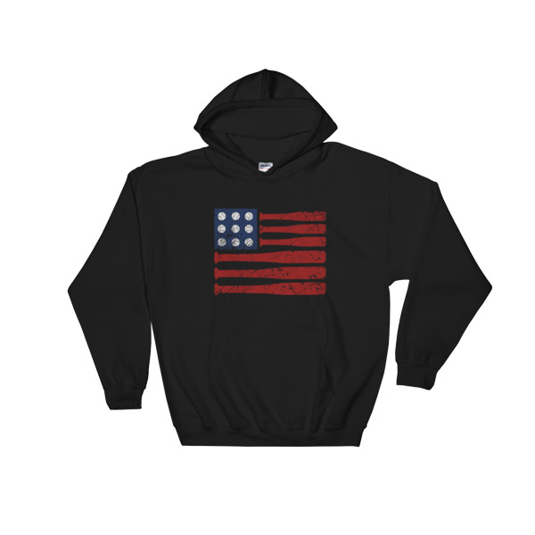 baseball independence day - 4th July fest Hooded Sweatshirt