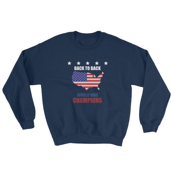 mockup 5fc9f09f - back to back world war champs – funny 4th of July Sweatshirt