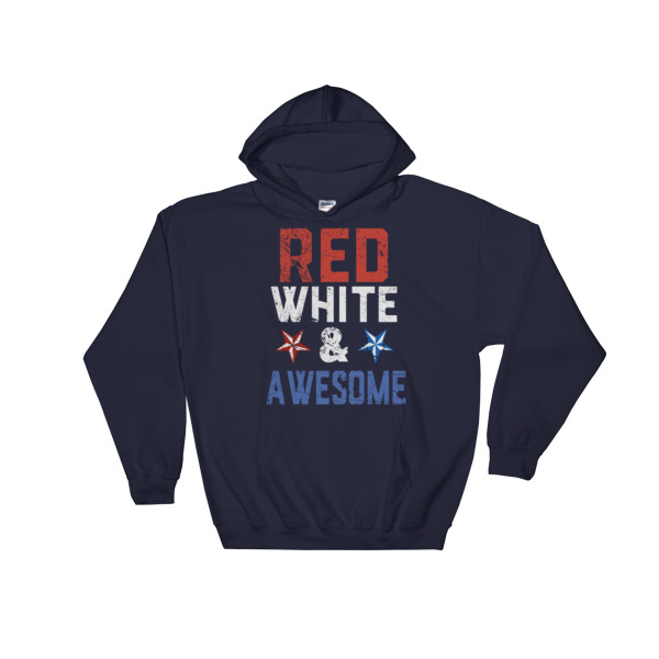 mockup 6c3c7859 - red white and awesome – 4th July fest Hooded Sweatshirt