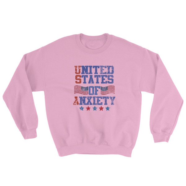 mockup 7d41862c - Independence Day 4th july – United States Of Anxiety Sweatshirt