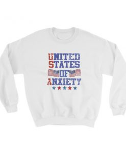 mockup 9d220a89 247x296 - Independence Day 4th july – United States Of Anxiety Sweatshirt