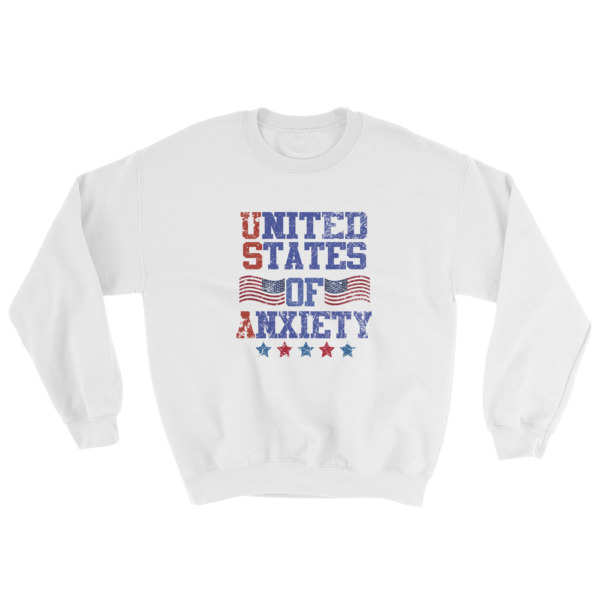 mockup 9d220a89 - Independence Day 4th july – United States Of Anxiety Sweatshirt