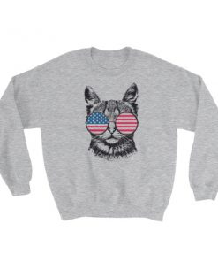 Patriotic Merica – Independence Day 4th July Sweatshirt