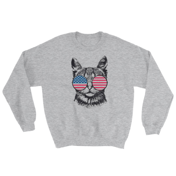 mockup ad829a42 - Patriotic Merica – Independence Day 4th July Sweatshirt