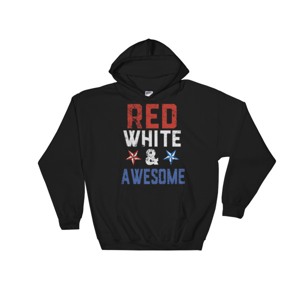 red white and beer – 4th July fest Hooded Sweatshirt