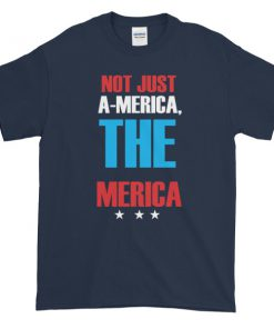 mockup d11455da 247x296 - Not just america the merica - funny 4th of July Short sleeve t-shirt