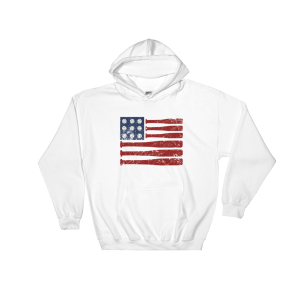 mockup db62e1c8 - baseball independence day - 4th July fest Hooded Sweatshirt