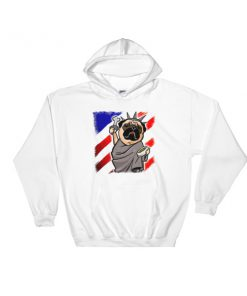 Pug patriot - 4th July fest Hooded Sweatshirt
