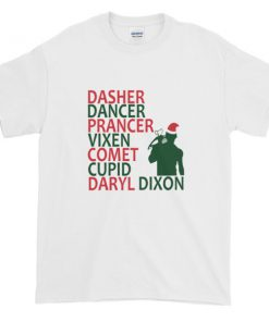 mockup 0b81386d 247x296 - The Walking Dead Daryl Dixon Christmas Graphic Tees Shirt