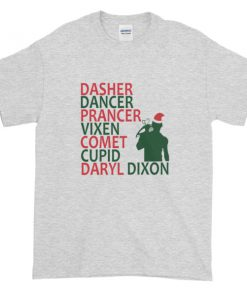 mockup 22cb88c2 247x296 - The Walking Dead Daryl Dixon Christmas Graphic Tees Shirt