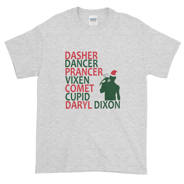 mockup 22cb88c2 - The Walking Dead Daryl Dixon Christmas Graphic Tees Shirt